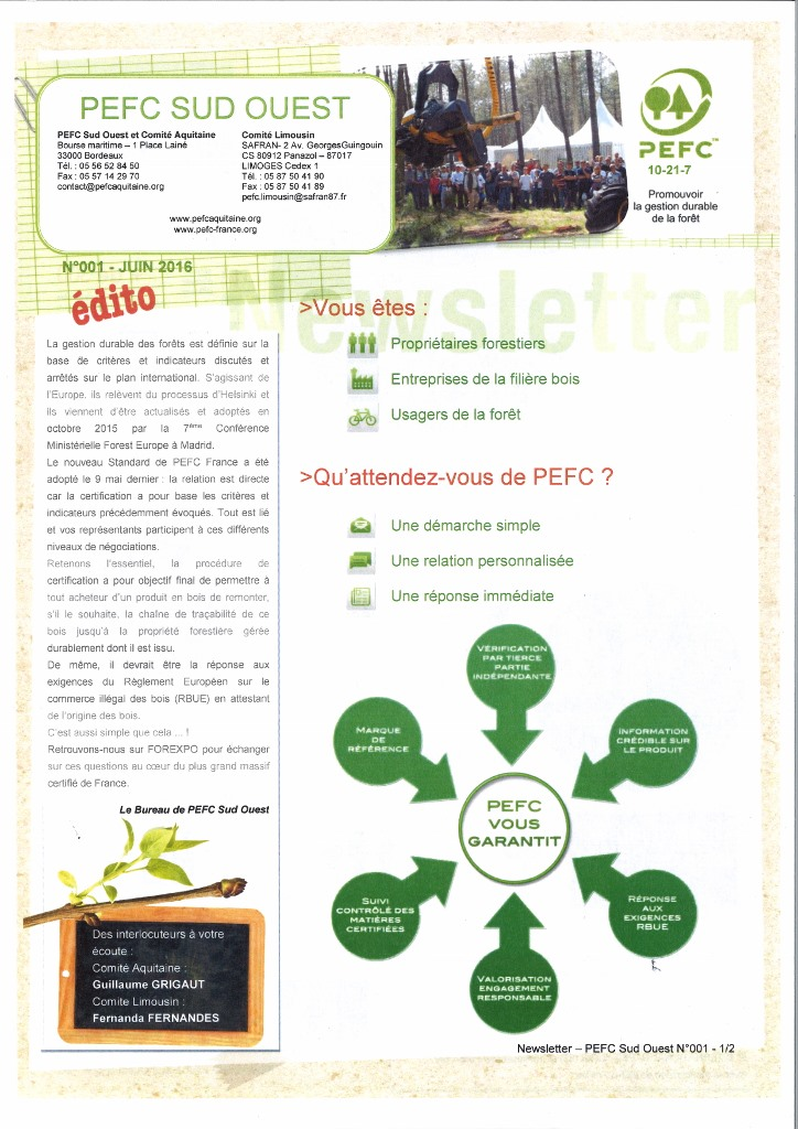 PEFC SO Newsletter n_1