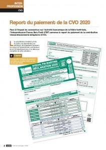 Art report paiement CVO