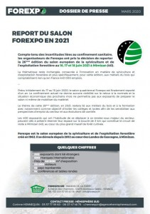 CP REPORT FOREXPO